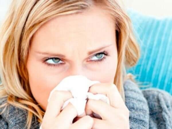 Flunssan oireet levittävät virusta