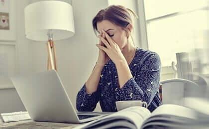 Mistä psyykkinen uupumus johtuu?