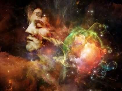 Ihminen ja maailmankaikkeus.