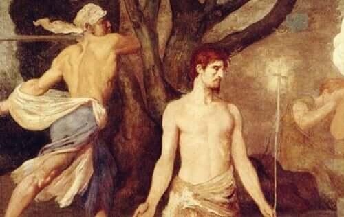 Legendan mukaan Pyhä Valentinus oli kristinuskoon kääntynyt roomalainen lääkäri, joka määrättiin Rooman keisarin toimesta teloitettavaksi