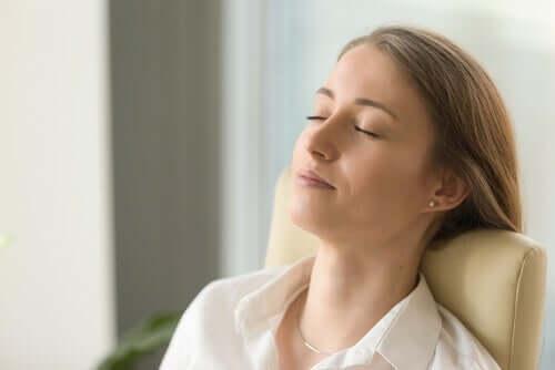Uniongelmiin auttaa rentoutuminen