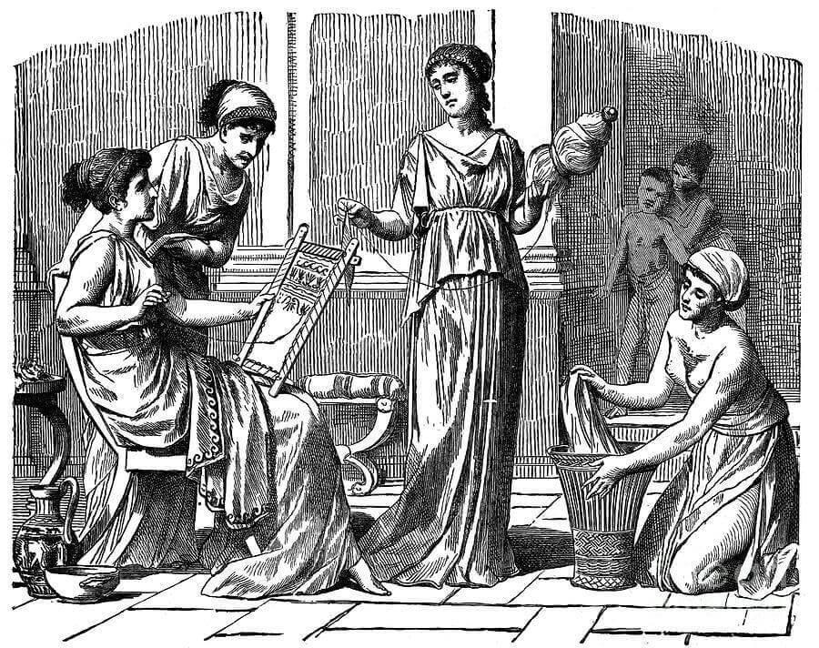 Egyptiläiset naiset.