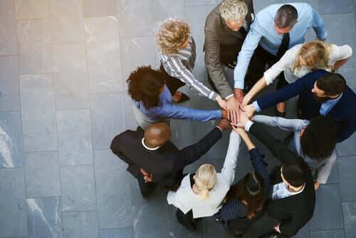 Ryhmäkoheesio on tarpeellinen voimavara.
