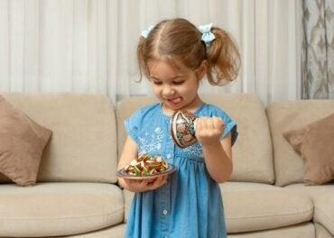 Fruit snack challenge: lasten itsehillintä