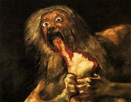 Yksi Goyan mustien maalausten psykologian tavoitteista on tietää, mikä sai hänet tekemään niitä