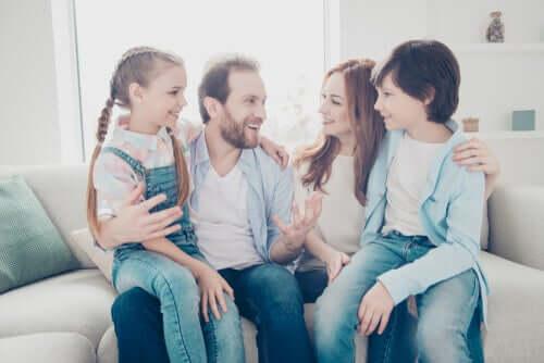 Rakkaus perheessä on ravintoaine, joka tukee kaikkea