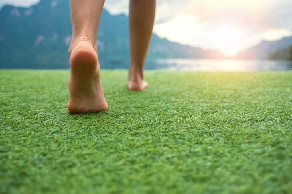 Grounding-harjoitus ahdistuneisuuden vähentämiseksi
