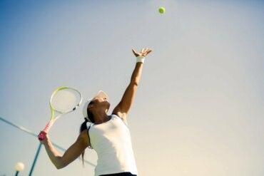 Psykologisten taitojen merkitys tenniksessä