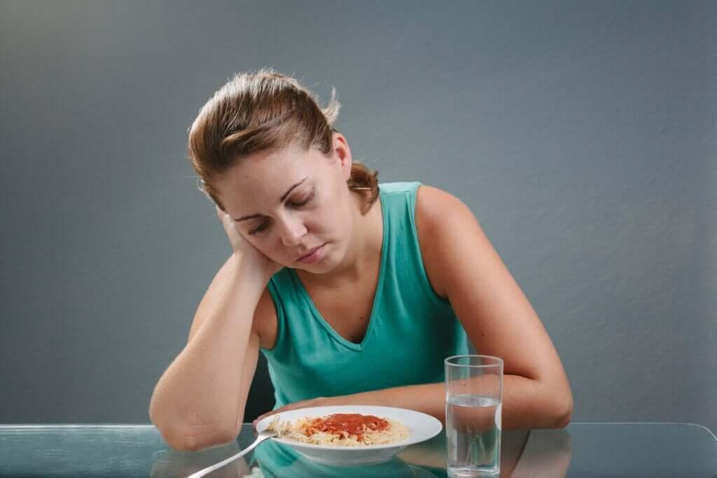 Mistä ruokahaluttomuus johtuu?