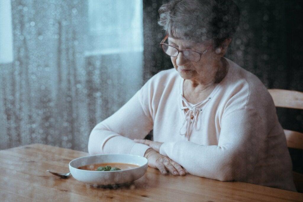 Ruokahaluttomuus on merkittävä oire vanhuksilla
