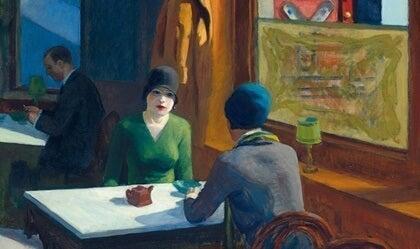 Edward Hopper, realistitaidemaalari, joka inspiroi Hitchcockia