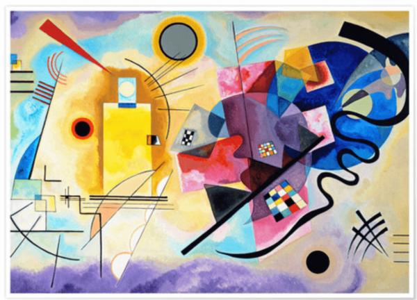 Wassily Kandinsky ja hänen värikäs elämänsä