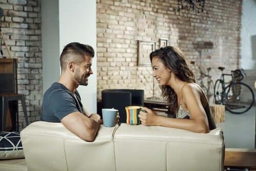 Itsevarma kommunikaatio parisuhteessa