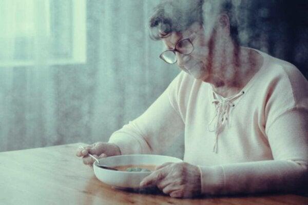 Miksi dementiapotilailla on vaikeuksia niellä ruokansa?